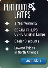 save money with Alternative Projector Lamps