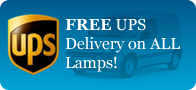Projector Lamp Experts Offers FREE UPS Standard Delivery on all orders